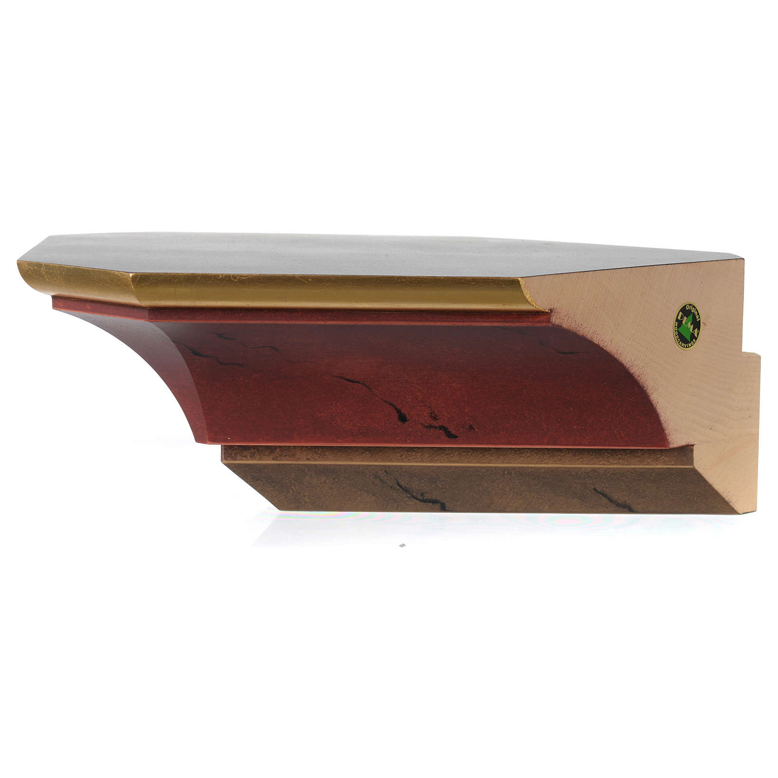 Corner bracket for wooden statues old style 4