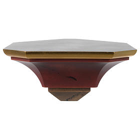 Corner bracket for wooden statues old style s1