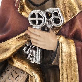 San Pietro con le chiavi 31 cm s4
