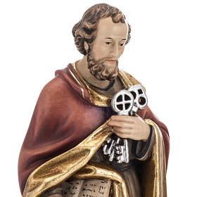 Saint Peter with keys 31cm s3