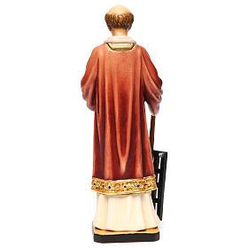 San Lorenzo legno colorato 30 cm s5