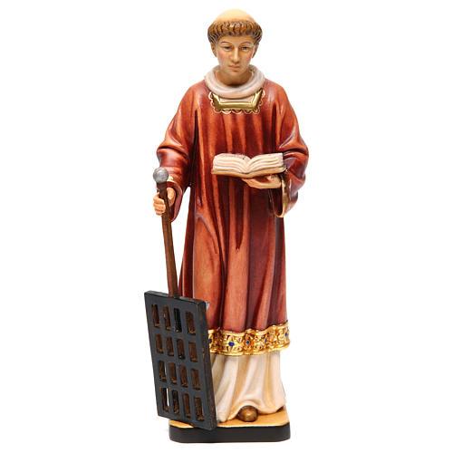 San Lorenzo legno colorato 30 cm 1