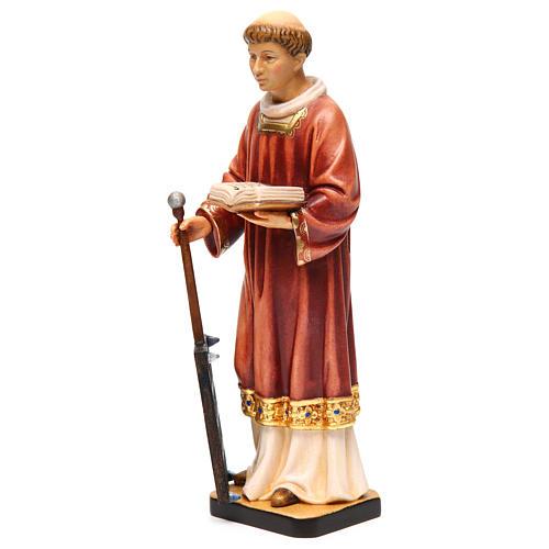 San Lorenzo legno colorato 30 cm 3