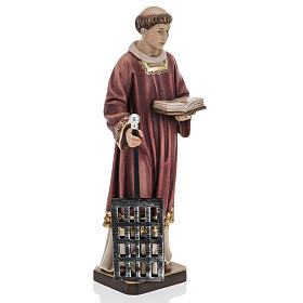 Saint Lawrence in coloured wood 30cm s4