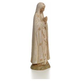 Imagem Nossa Senhora de Fátima 15 cm madeira pintada Belém s2