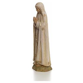Imagem Nossa Senhora de Fátima 15 cm madeira pintada Belém s3