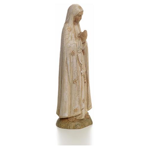 Imagem Nossa Senhora de Fátima 15 cm madeira pintada Belém 2