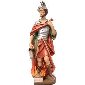 San Floriano legno dipinto Valgardena s1