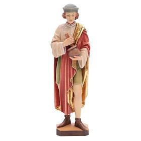 San Damiano 25 cm legno dipinto Valgardena s1