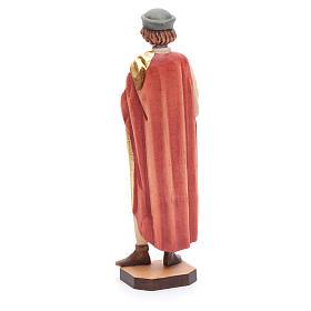 San Damiano 25 cm legno dipinto Valgardena s3