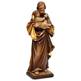 Heiliger Josef mit Kind bei Guido Reni Grödnertal Holz s4