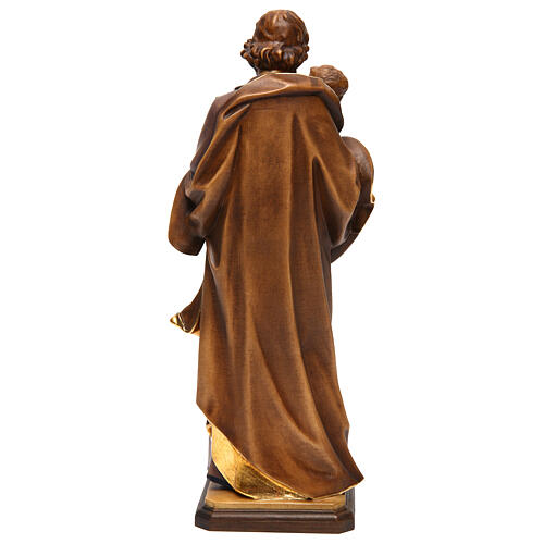 Heiliger Josef mit Kind bei Guido Reni Grödnertal Holz 5