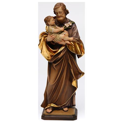 San José con niño de Guido Reni madera Val Gardena 1