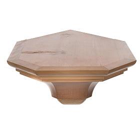 Ménsula madera Valgardena para ángulo s3