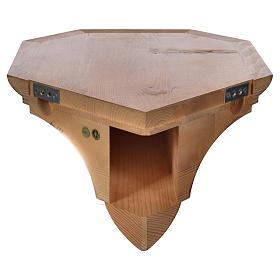 Ménsula madera Valgardena para ángulo s4