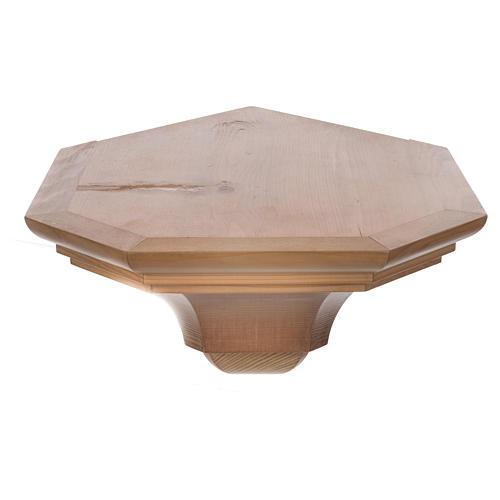 Mensola per angolo legno Valgardena 3