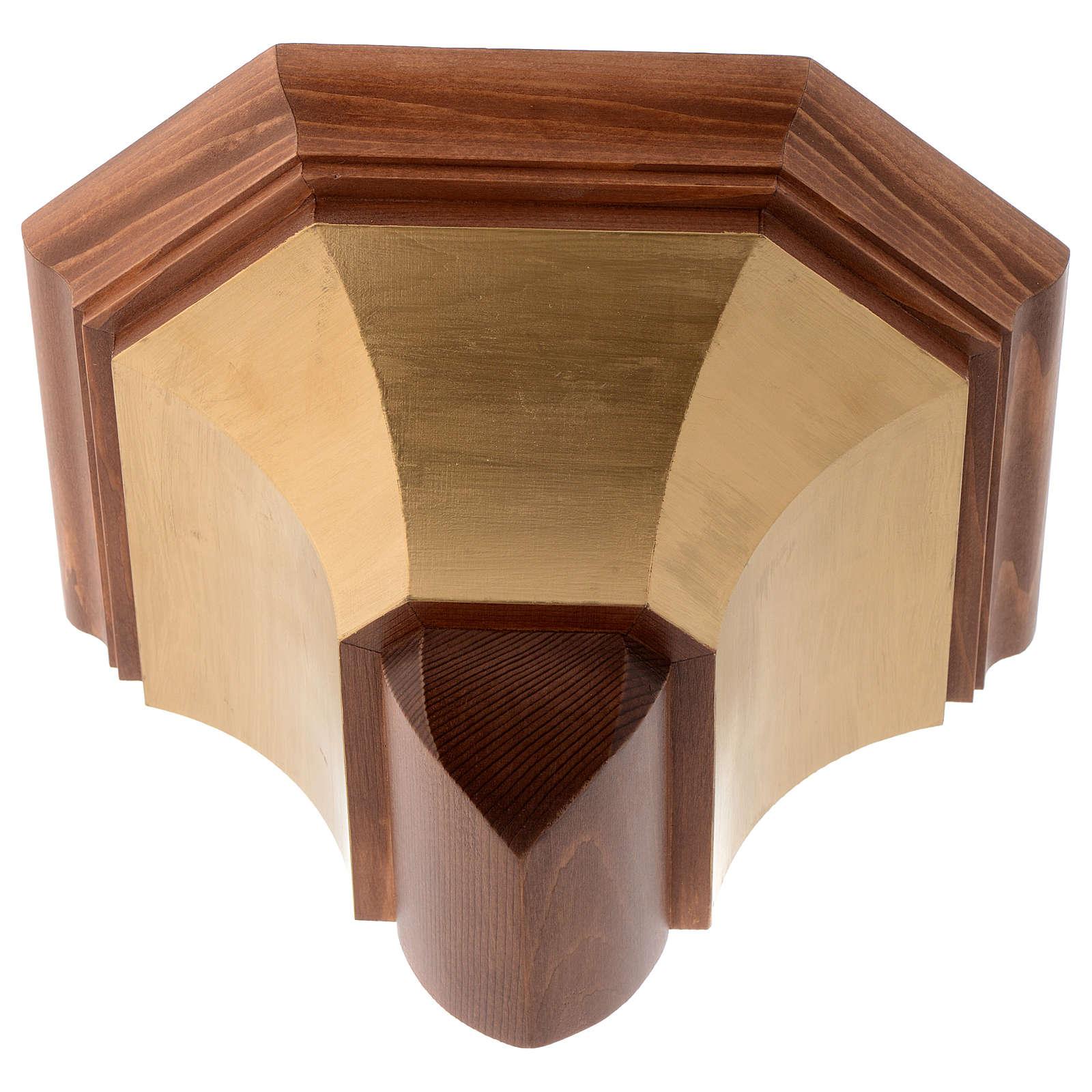Ménsula para pared madera Valgardena 4