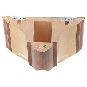 Mensola per parete legno Valgardena s4