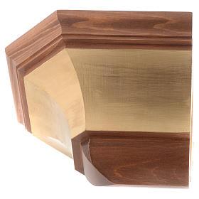 Mensola per parete legno Valgardena s2