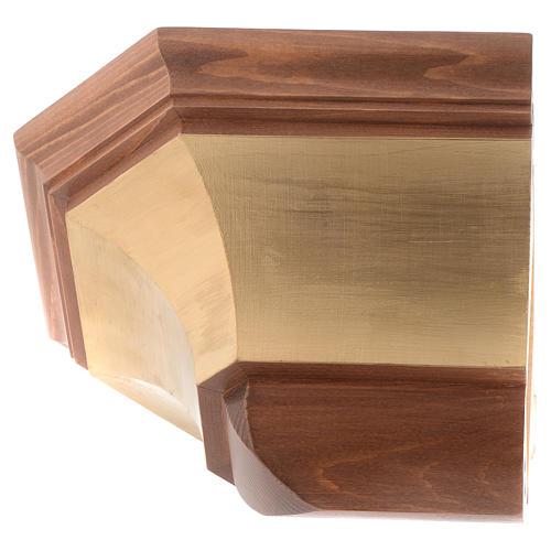 Mensola per parete legno Valgardena 2