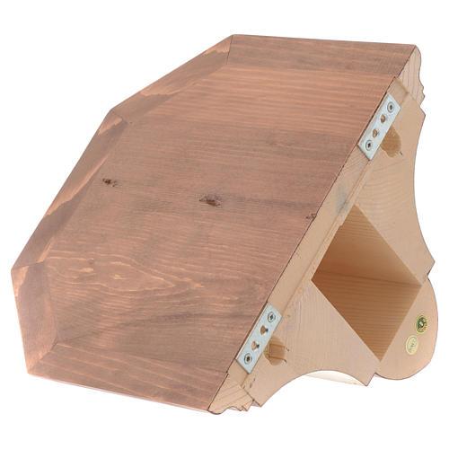 Mensola per parete legno Valgardena 3