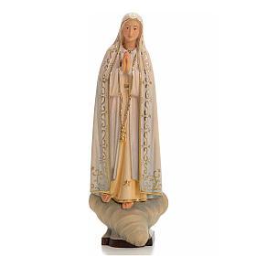 Imágenes de Madera Pintada: Virgen de Fátima madera pintada Valgardena