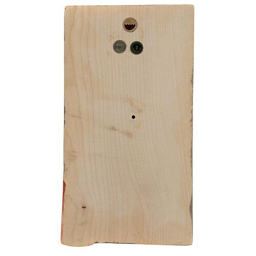 Płaskorzeźba Dłonie Złożone drewno malowane Valgardena 4
