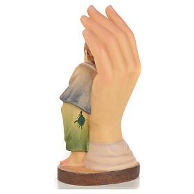 Mano protettiva bimbo legno Valgardena s2