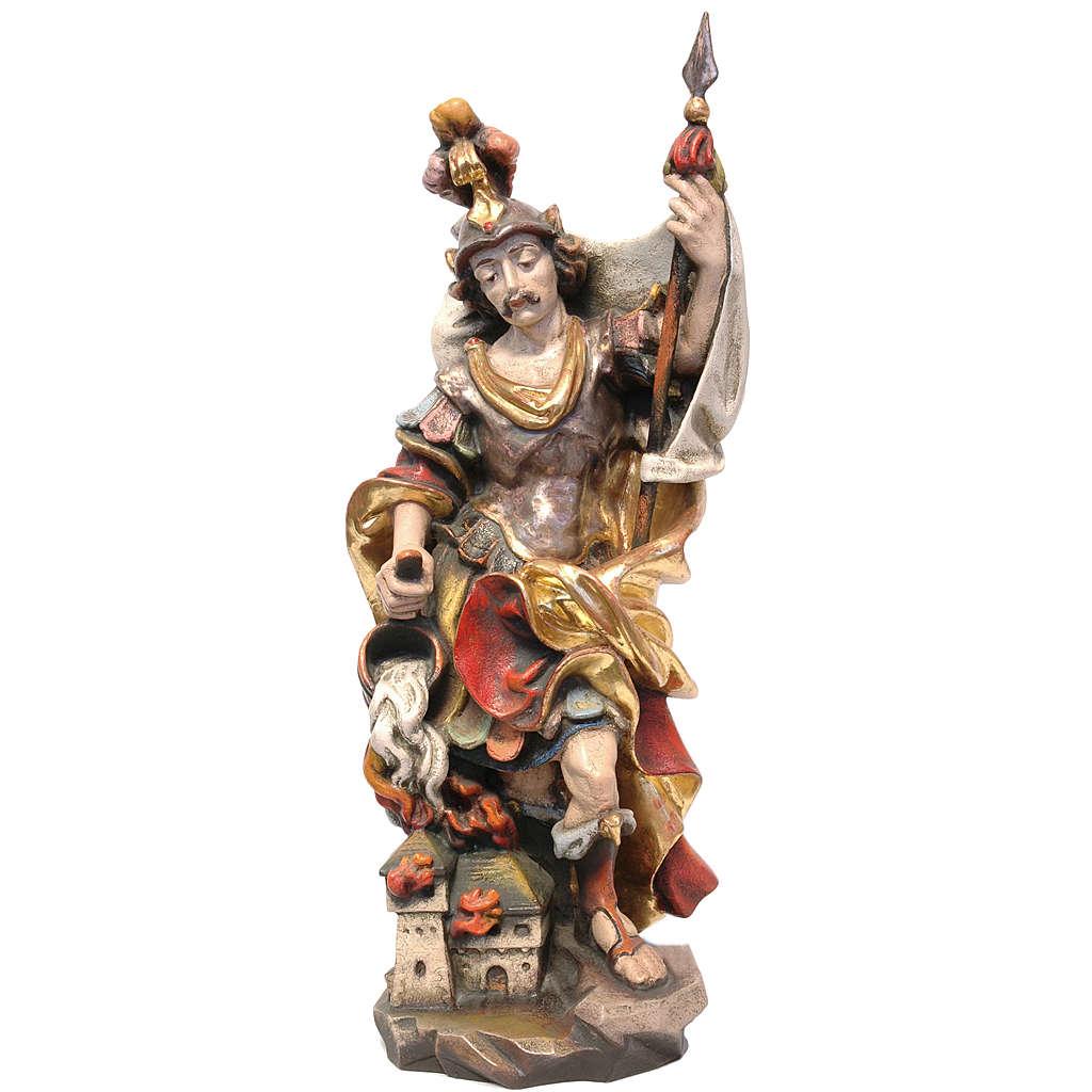 San Floriano stile barocco legno Valgardena Antico Gold 4