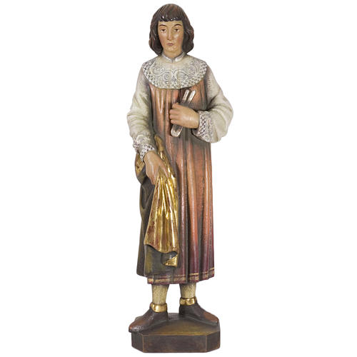 San Cosimo 50 cm legno Valgardena Antico Gold 1