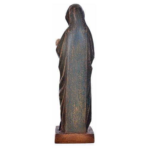 Vergine d'Autun con bambino 15 cm legno Bethléem 3