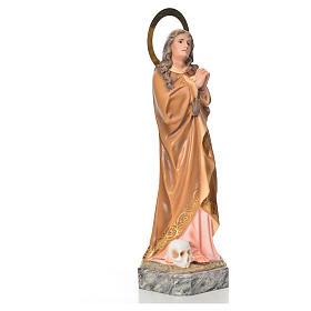 Saint Mary Magdalene 30 wood paste elegant decoration s4