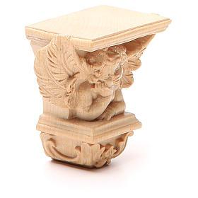 Półka na figurę na ścianę model Raffaello naturalne woskowane s4