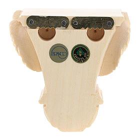 Półka na figurę na ścianę model Raffaello naturalne woskowane s8