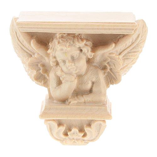 Półka na figurę na ścianę model Raffaello naturalne woskowane 5
