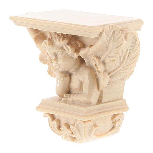 Półka na figurę na ścianę model Raffaello naturalne woskowane 6