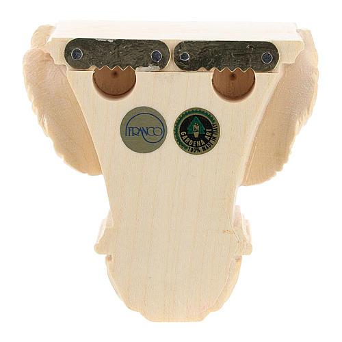 Półka na figurę na ścianę model Raffaello naturalne woskowane 8