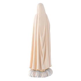 Statue Notre-Dame Fatima bois Valgardena coloré s4