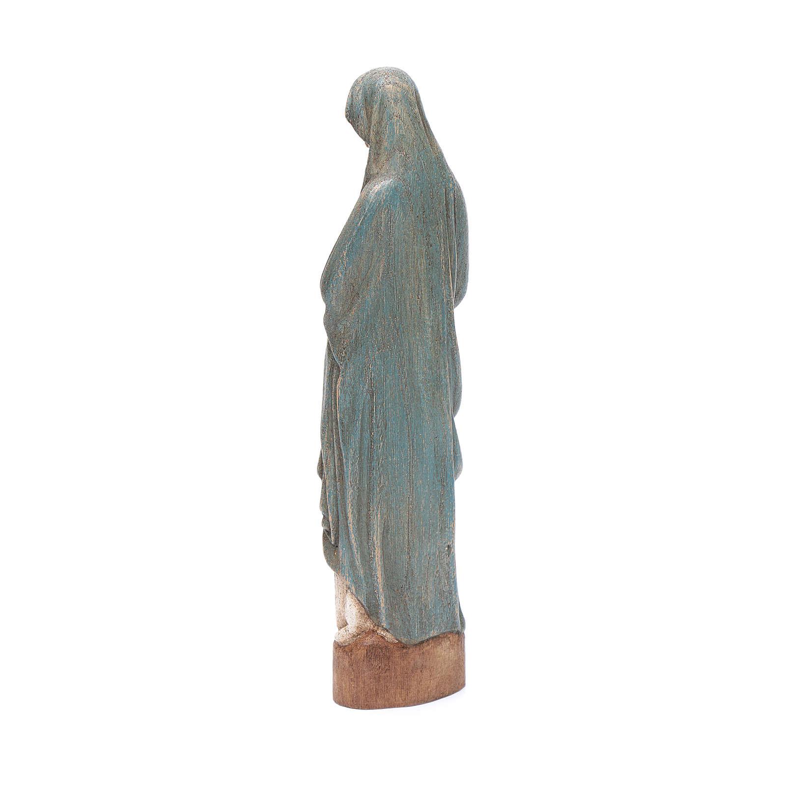 Statue Mariä Empfängnis 25cm blau 4