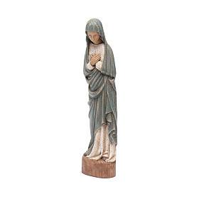 Statua Vergine dell' Annunciazione 25 cm blu s2