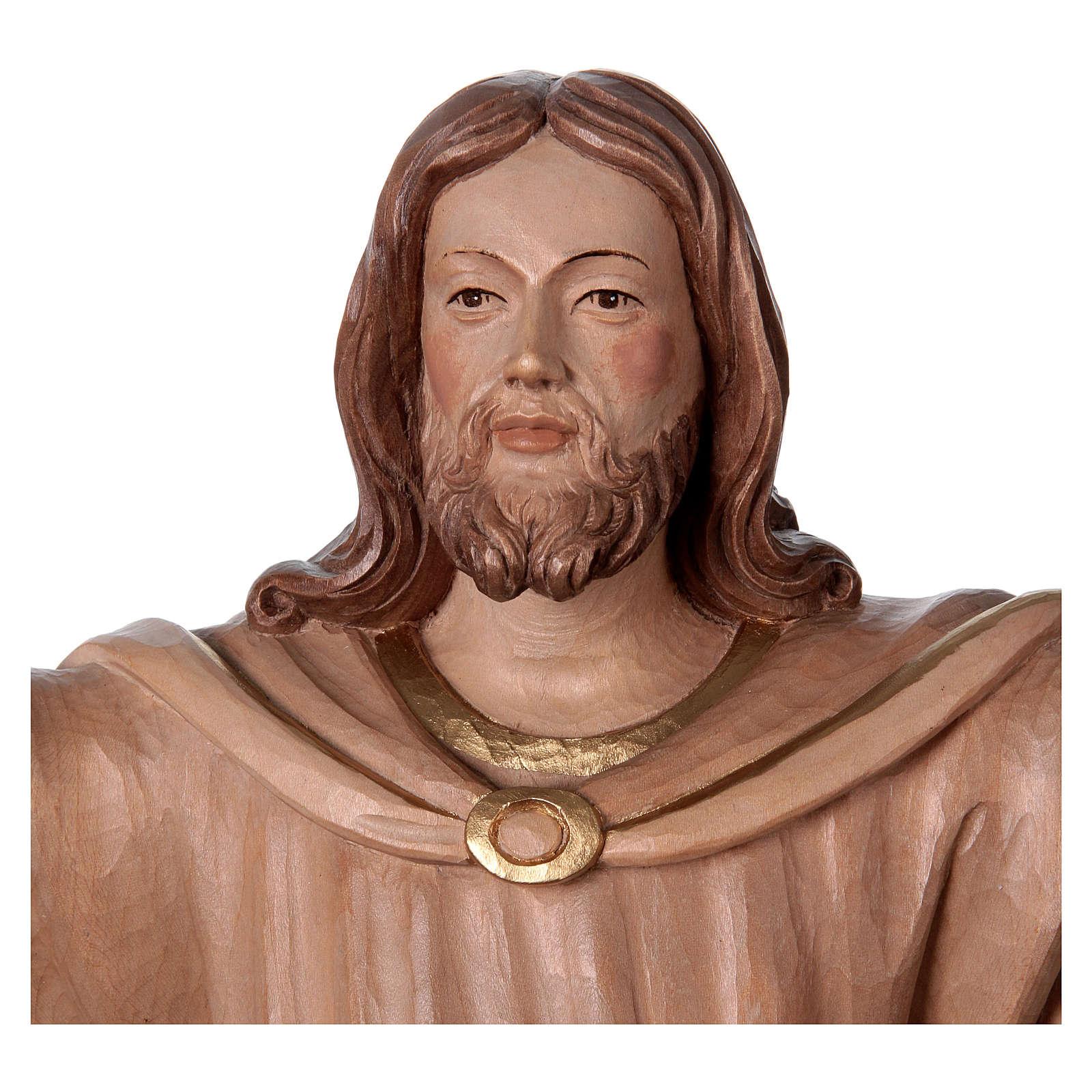Statua Cristo Risorto brunito 3 colori 4