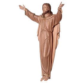 Statua Cristo Risorto brunito 3 colori s3