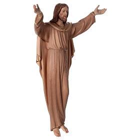 Statua Cristo Risorto brunito 3 colori s4