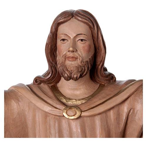 Statua Cristo Risorto brunito 3 colori 2