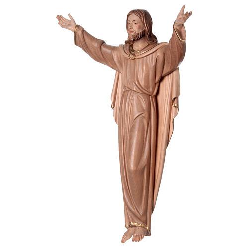 Statua Cristo Risorto brunito 3 colori 3