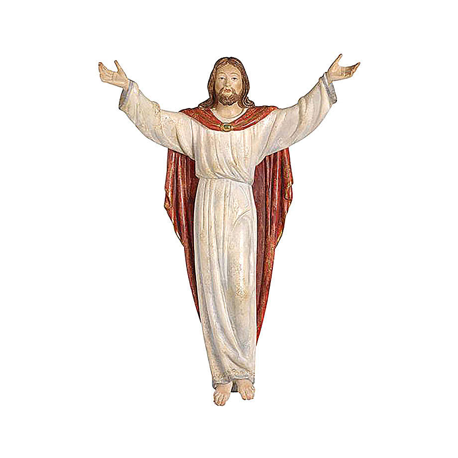 Statua Cristo Risorto oro zecchino antico 4