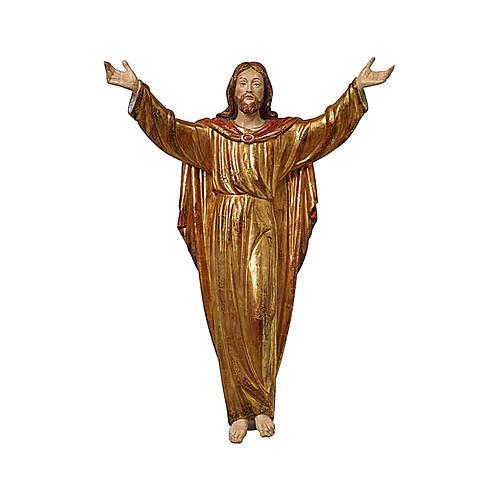 Christ Ressuscité tunique or massif vieilli 1