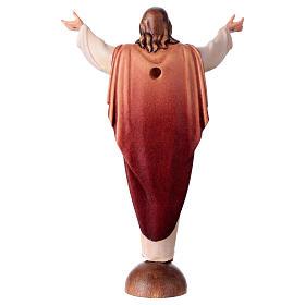 Statue Christ Ressuscité sur base coloré s4