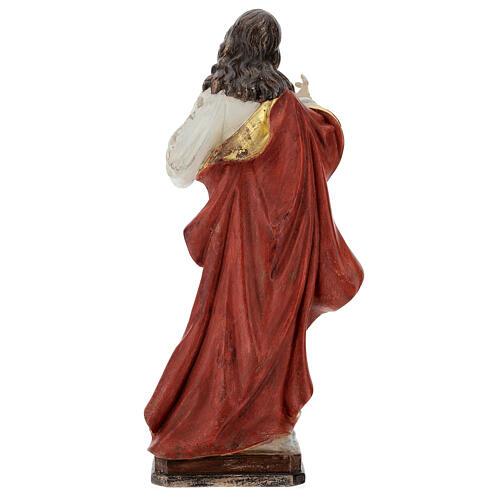 Sagrado Corazón Jesús oro de tíbar antiguo realístico 5