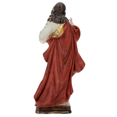 Sacred Heart of Jesus in antique pure gold realistic style 5